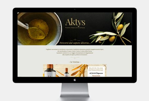 Sito e-commerce Aktys