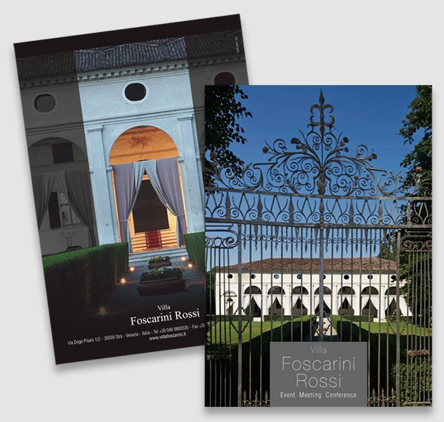 Brochure Villa Foscarini Rossi