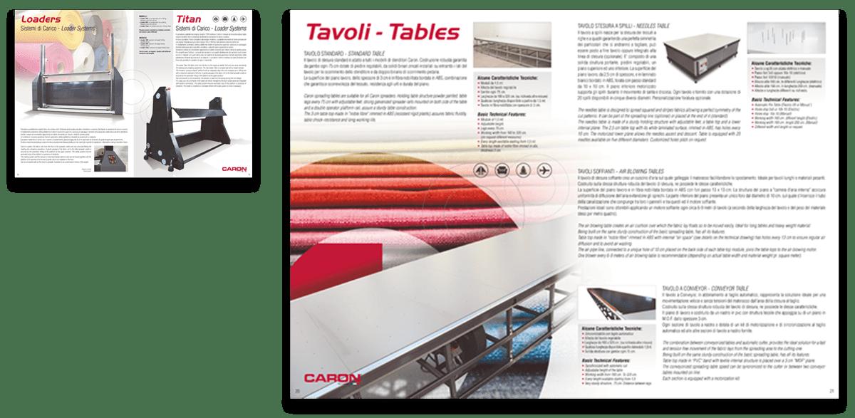Caron Technology Pagine Nuovo Catalogo