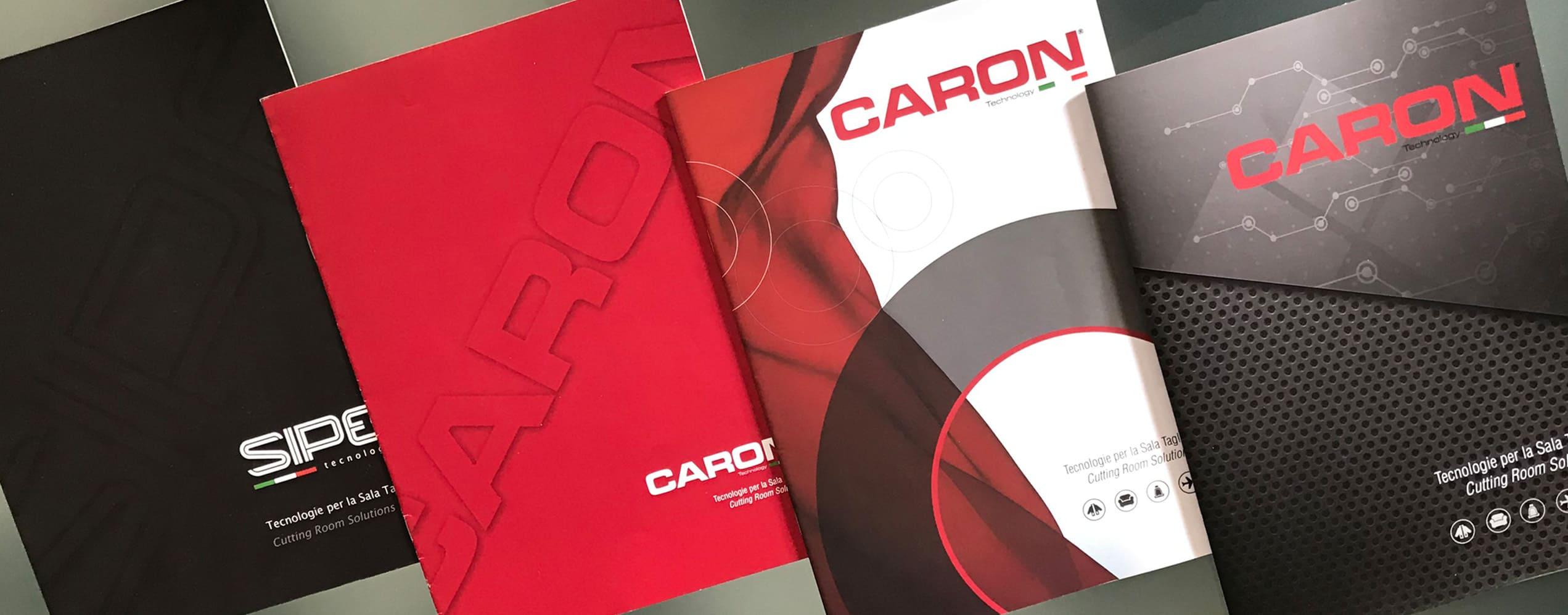 Caron Technology Copertine Cataloghi