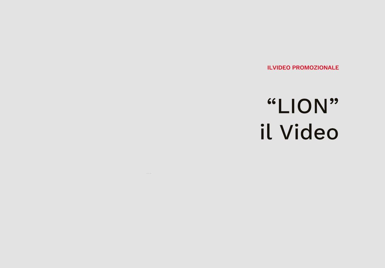 """Caron """"LION"""" Il Video Promozionale"""