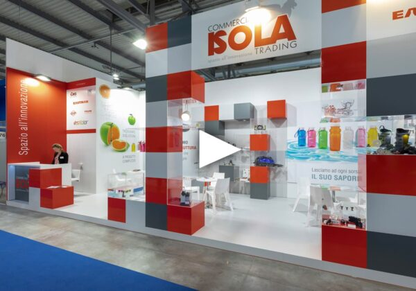 Commerciale Isola Trading Fiera Triennale PLAST Milano