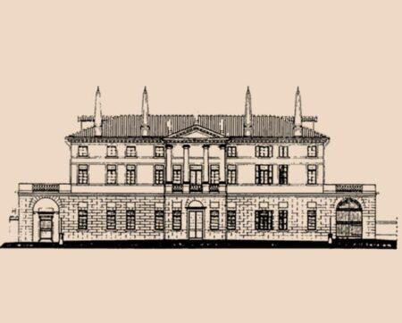 Disegno Villa Foscarini Rossi