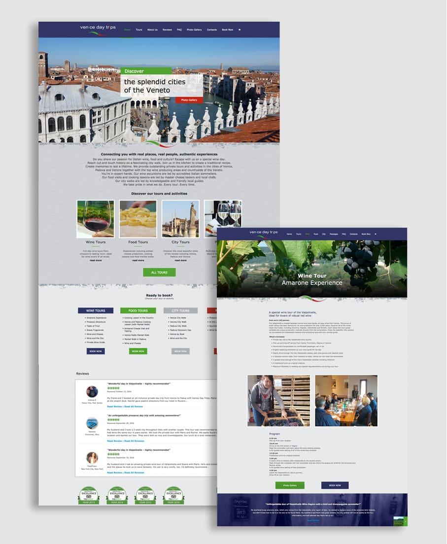 E-commerce Sito Venice Day Trips