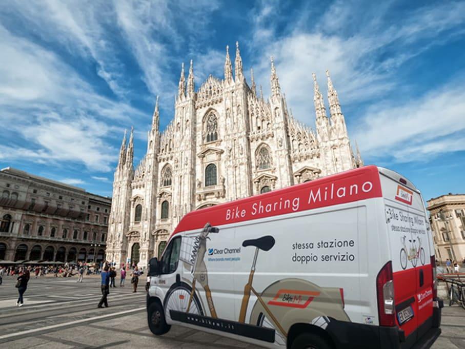 Furgone BikeMi EXPO Milano