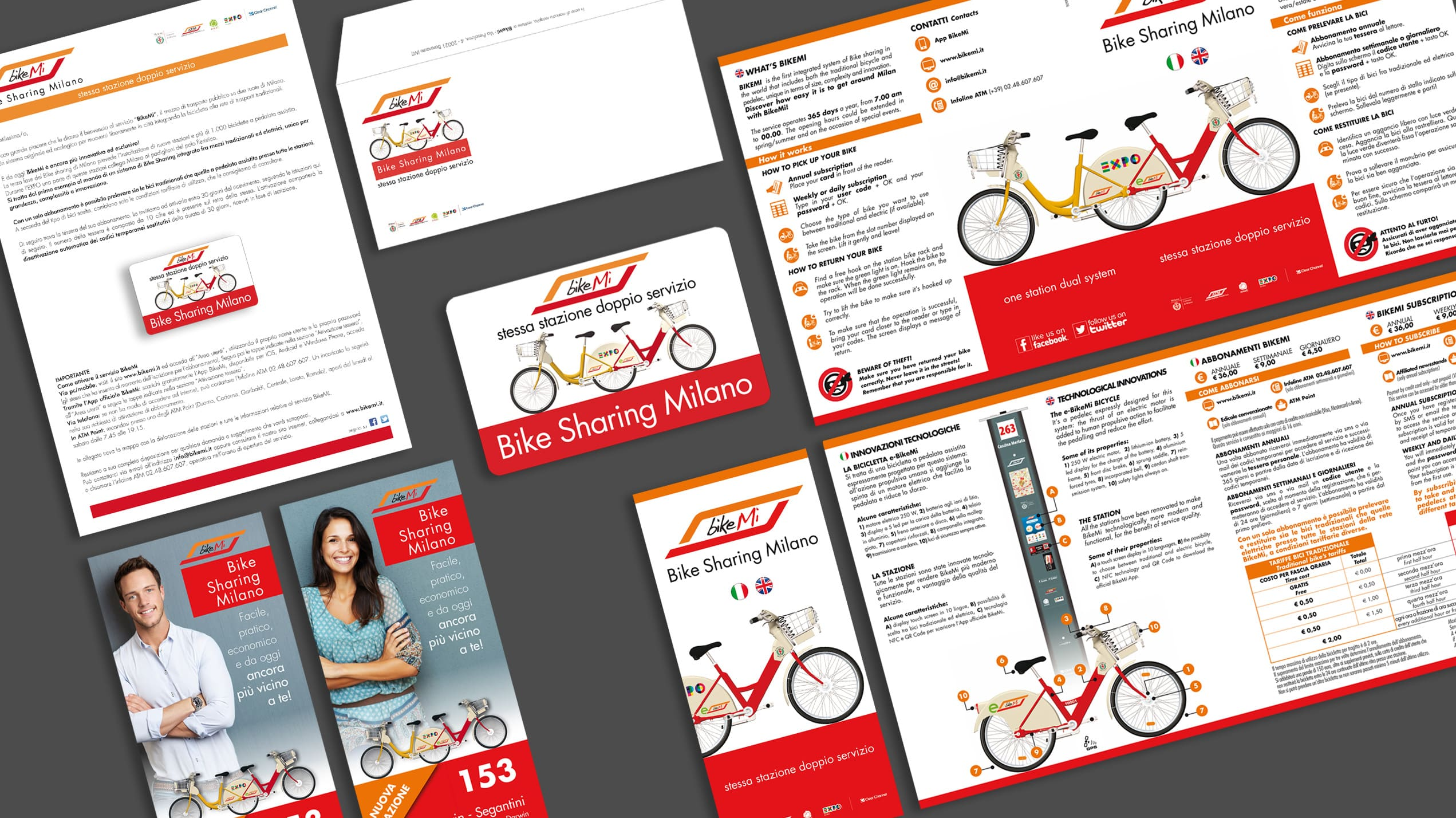 Immagine Coordinata BikeMi EXPO Milano