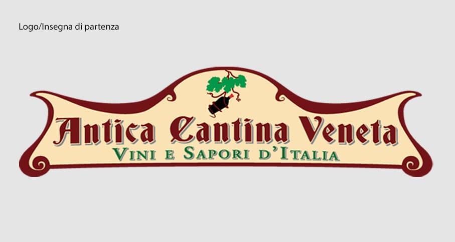Logo/Insegna di partenza Antica Cantina Veneta