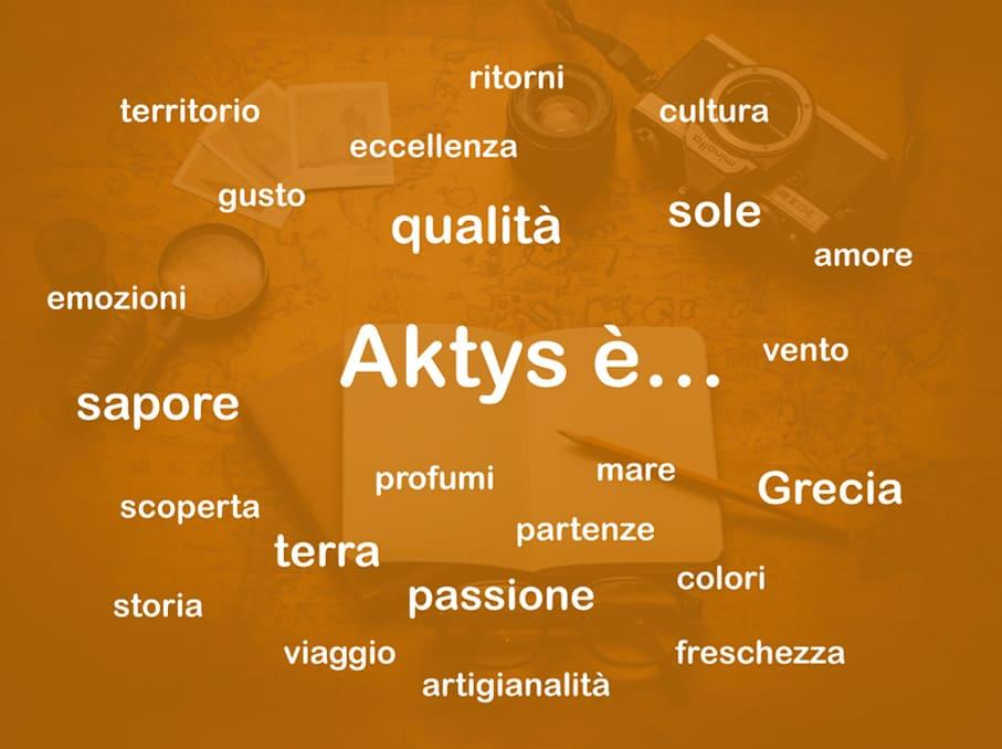 Aktys meta e parole chiave