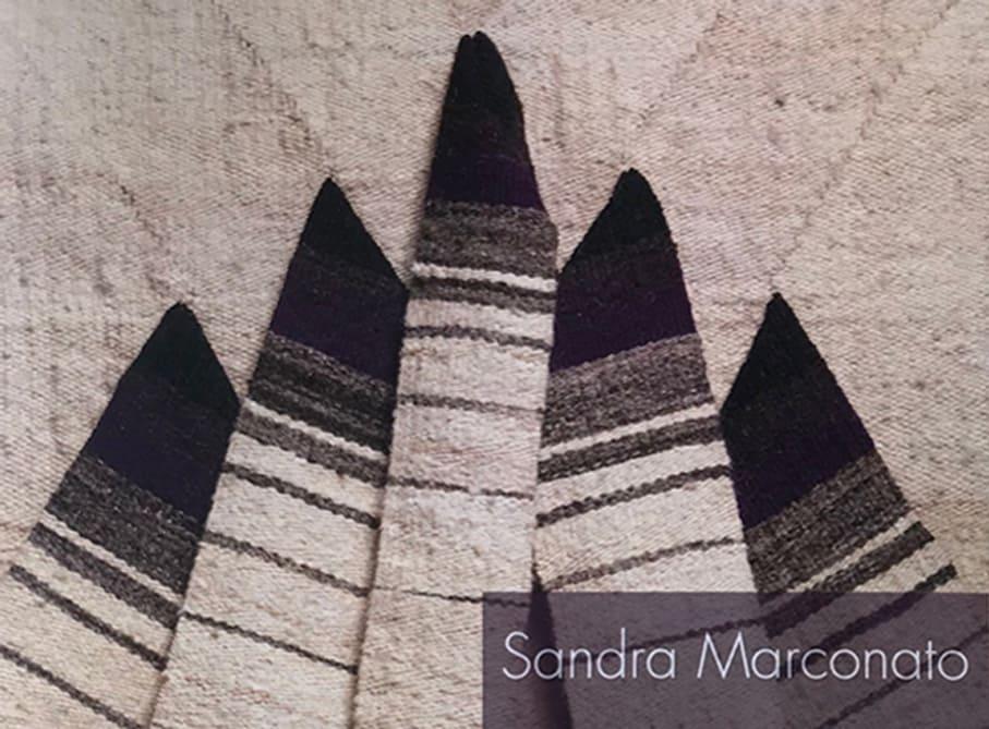 """Catalogo Mostra Sandra Marconato """"Retrospettiva"""""""