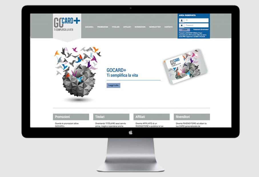 Sito Internet GOCARD+ by Scotton Assicurazioni
