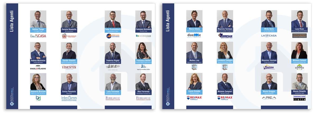 Padova MLS brochure interno, foto soci