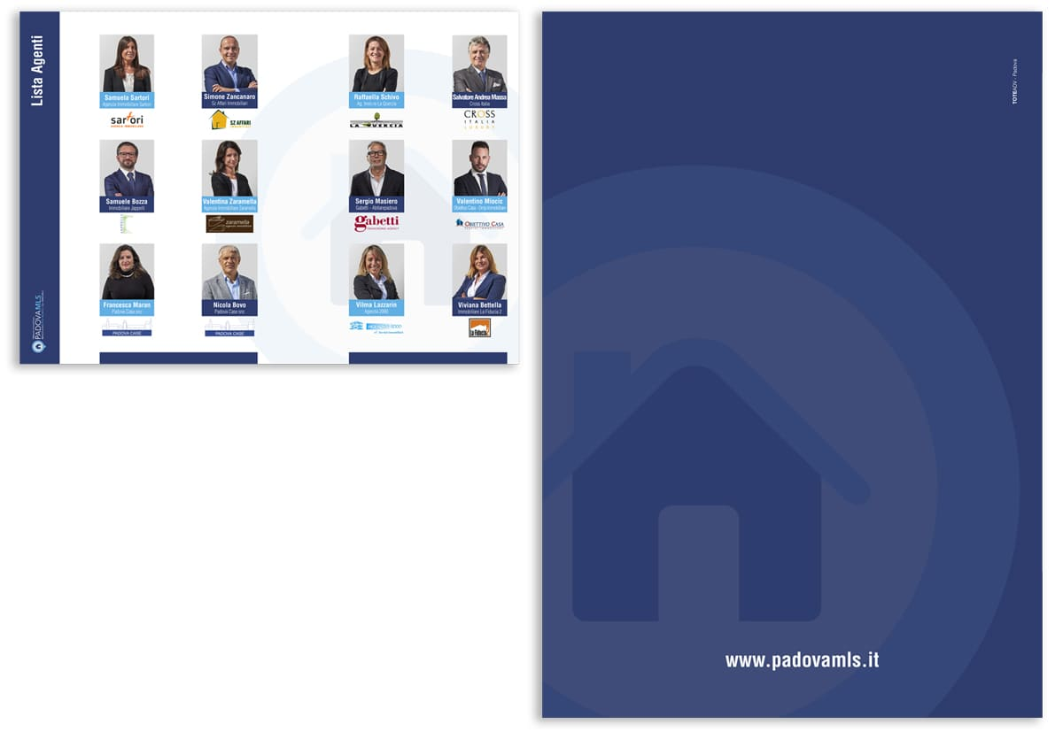Padova MLS brochure interno e retro
