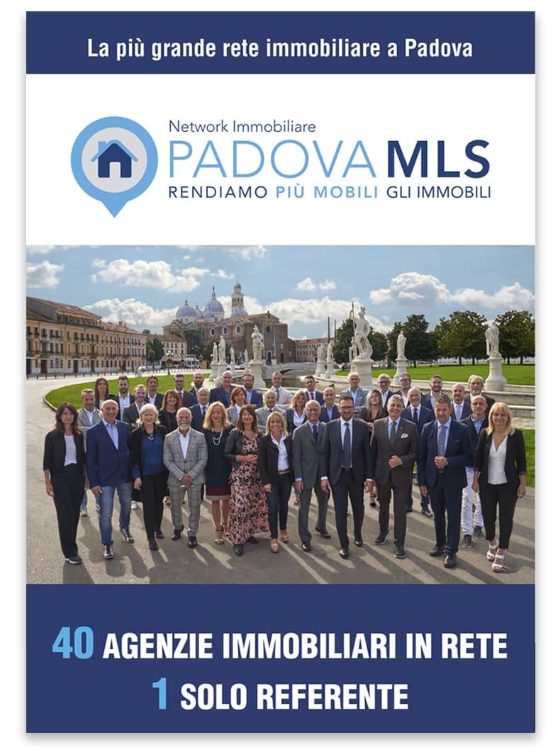 Padova MLS la copertina della brochure istituzionale